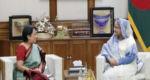 প্রধানমন্ত্রীর সঙ্গে ভারতীয় হাইকমিশনারের সাক্ষাৎ