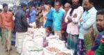 নলডাঙ্গায় মৌসুমে শেষ সময়ে পেঁয়াজের দরপতনে হতাশ চাষীরা
