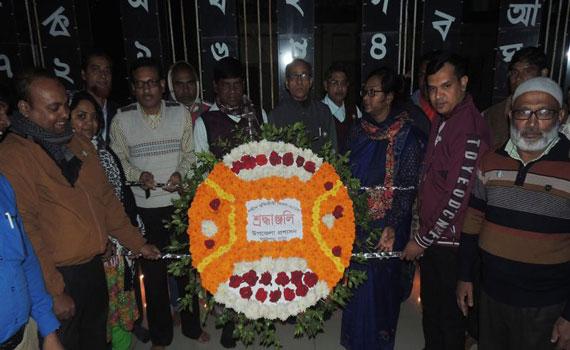 বাগাতিপাড়ায় শহীদ বুদ্ধিজীবী দিবস উপলক্ষে মোমবাতি প্রজ্বলন