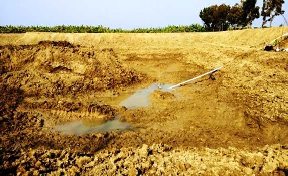 আবাদি জমিতে পুকুর খনন ঠেকাতে মাঠে নেমেছেন নাটোরের ডিসি: কঠোর হুঁশিয়ারী