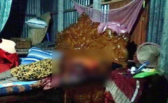 টাঙ্গাইলের বাসাইলে এক প্রবাসীর স্ত্রীকে গলা কেটে হত্যা