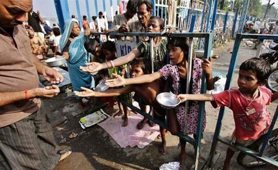 বিশ্বের সর্বাধিক হতদরিদ্র মানুষের বাস ভারতে