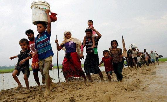 ভারত থেকে বাংলাদেশে ঢুকছে রোহিঙ্গারা