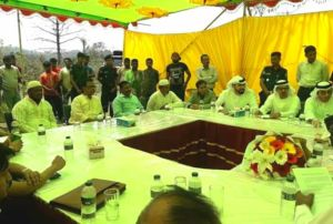 রাঙ্গুনিয়ায় আমিরাত রাষ্ট্রদূত'র প্রকল্প এলাকা পরিদর্শন করেন