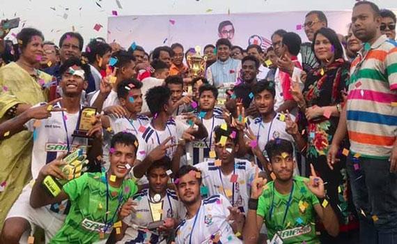 শেখ কামাল অনূর্ধ্ব-২০ জাতীয় ফুটবলঃ খুলনাকে ৩-১ গোলে হারিয়ে রাজশাহী চ্যাম্পিয়ন