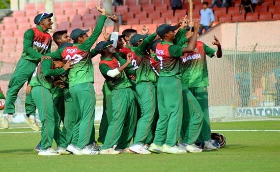 পাকিস্তানকে হারাল বাংলাদেশ অনূর্ধ্ব-১৬ দল