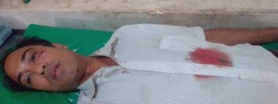 বাঁশখালী শিলকুপে মহিলা মেম্বারের হামলায় পুরুষ মেম্বার হাসপাতালে
