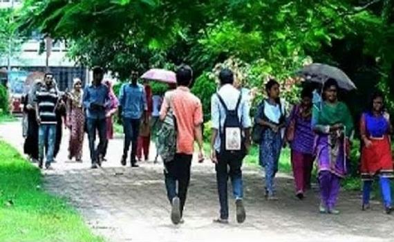৩৭ দিনের ছুটিতে বাড়ি যাচ্ছেন নজরুল বিশ্ববিদ্যালয়ের শিক্ষার্থীরা