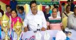 দৌলতপুরে বঙ্গবন্ধু ও বঙ্গমাতা গোল্ডকাপ প্রাথমিক বিদ্যালয় ফুটবল টুর্নামেন্ট অনুষ্ঠিত