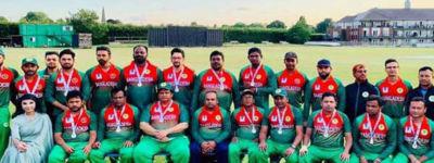 রানার্সআপ ইন্টার পার্লামেন্টারি ক্রিকেট বিশ্বকাপে বাংলাদেশ