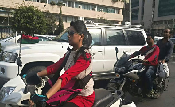 খালেদা জিয়ার সেই 'স্কুটি সঙ্গী' ছাত্রদলের সম্পাদক হতে চান
