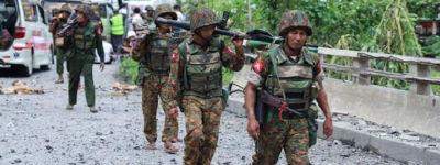 মিয়ানমারে বিদ্রোহীদের হাতে ৩০ সেনা নিহত